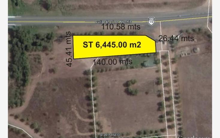 Foto de terreno habitacional en venta en  , mocorito centro, mocorito, sinaloa, 881661 No. 01
