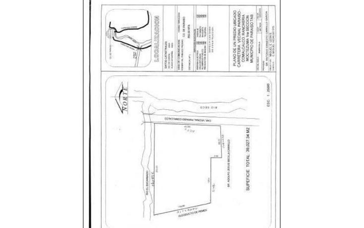 Foto de terreno comercial en venta en  , moctezuma, paraíso, tabasco, 1256199 No. 02