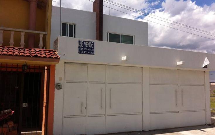 Foto de casa en venta en  , moderna, zacapu, michoacán de ocampo, 1289055 No. 01