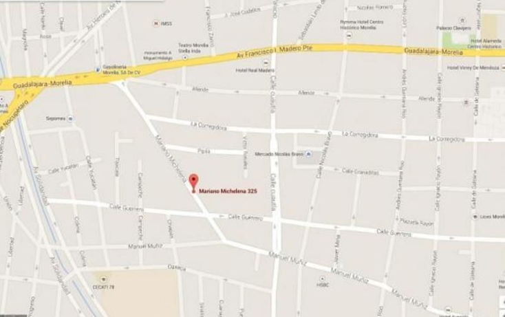 Foto de terreno habitacional en venta en  , molino de parras, morelia, michoacán de ocampo, 1666944 No. 02