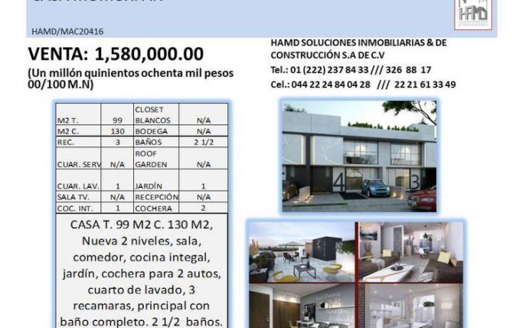 Foto de casa en venta en, momoxpan, san pedro cholula, puebla, 1797706 no 03
