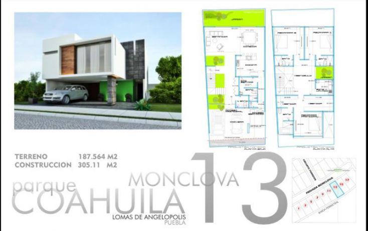 Foto de casa en venta en monclova 13, alta vista, san andrés cholula, puebla, 1762378 no 01