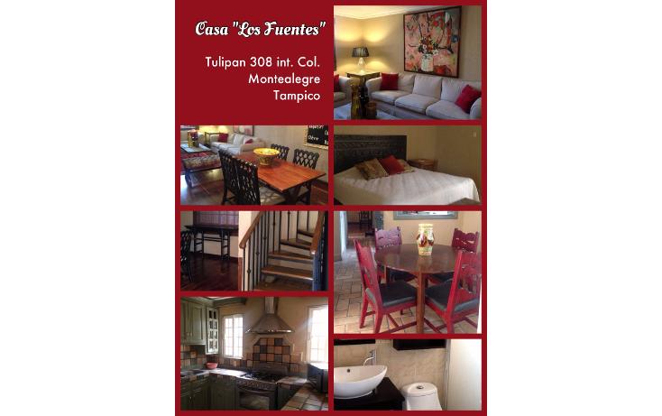Foto de casa en renta en  , monte alegre, tampico, tamaulipas, 1297629 No. 01