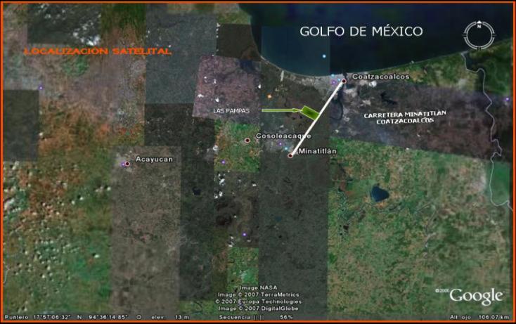 Foto de terreno comercial en venta en, monte alto, cosoleacaque, veracruz, 1108515 no 01