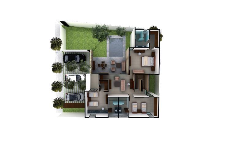 Foto de casa en venta en  , montebello, mérida, yucatán, 1049791 No. 06