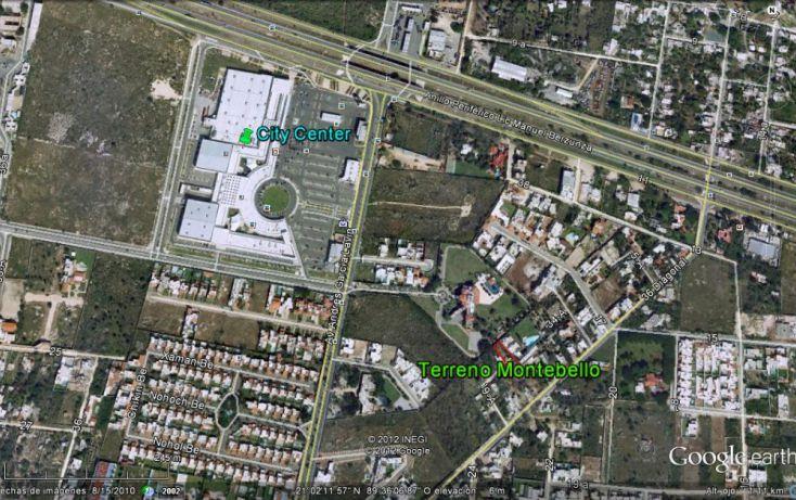 Foto de terreno habitacional en venta en, montebello, mérida, yucatán, 1088169 no 01