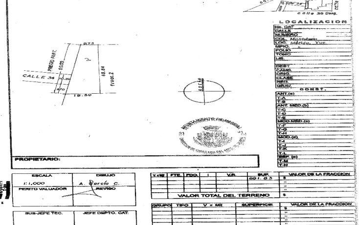 Foto de terreno habitacional en venta en, montebello, mérida, yucatán, 1088169 no 02