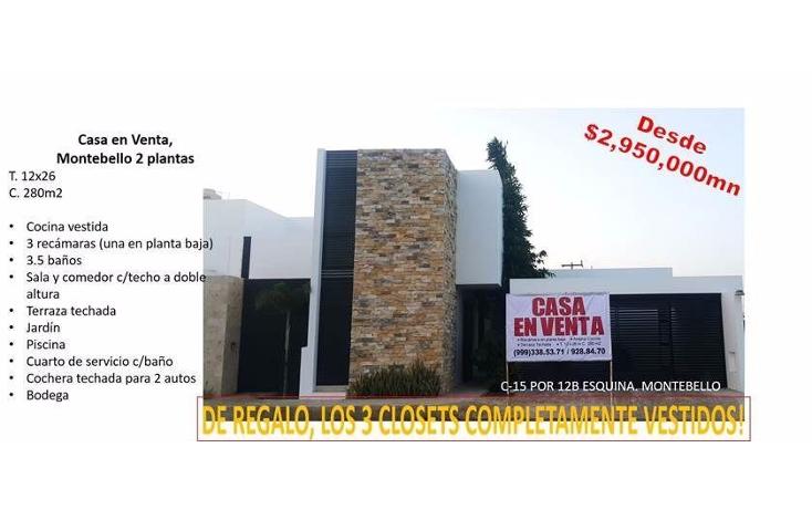 Foto de casa en venta en  , montebello, mérida, yucatán, 1138575 No. 07