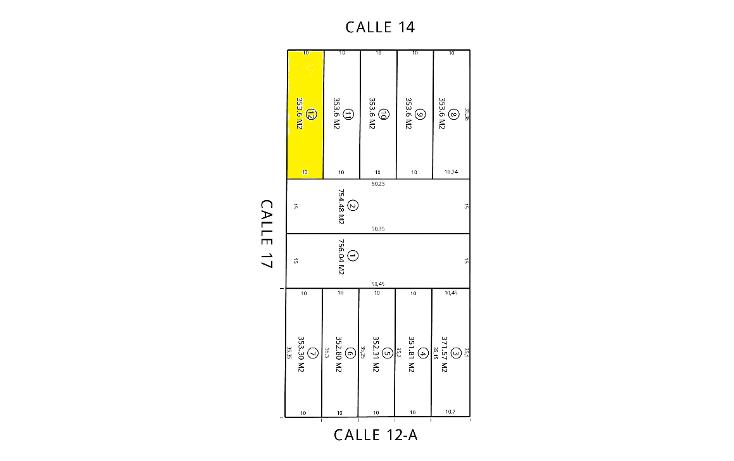 Foto de terreno habitacional en venta en  , montebello, m?rida, yucat?n, 1187891 No. 01