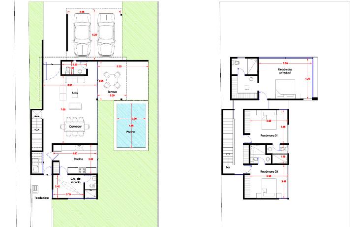 Foto de casa en venta en  , montebello, mérida, yucatán, 1205069 No. 04