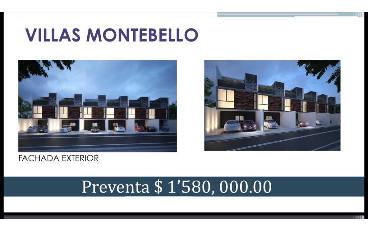 Foto de casa en venta en  , montebello, mérida, yucatán, 1246803 No. 01