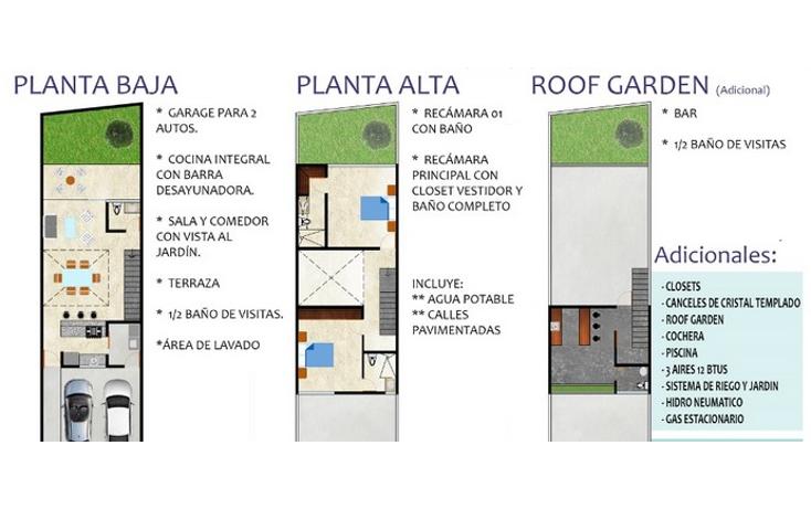 Foto de casa en venta en  , montebello, mérida, yucatán, 1363323 No. 04