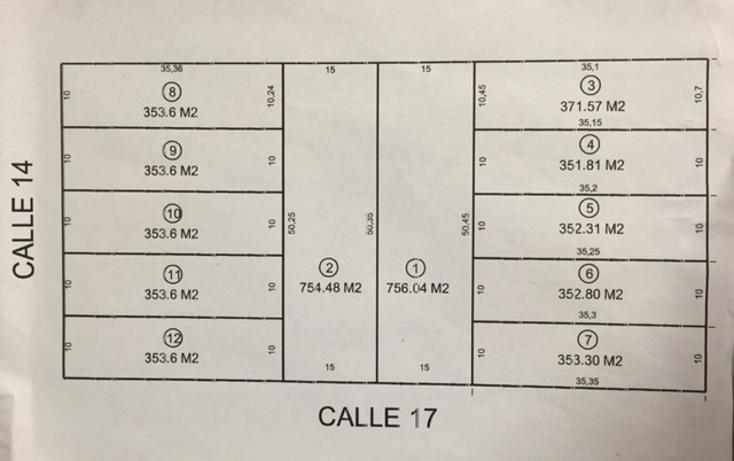 Foto de terreno habitacional en venta en  , montebello, mérida, yucatán, 1427813 No. 01