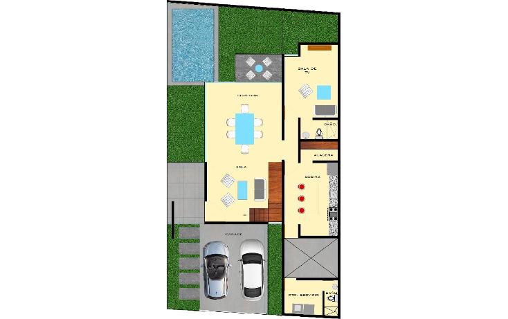 Foto de casa en venta en  , montebello, mérida, yucatán, 1451457 No. 08