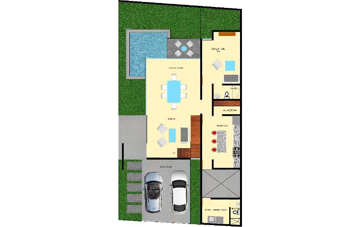 Foto de casa en venta en  , montebello, mérida, yucatán, 1495463 No. 08