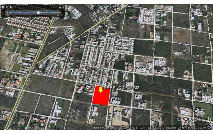 Foto de terreno habitacional en venta en  , montebello, mérida, yucatán, 1501673 No. 01