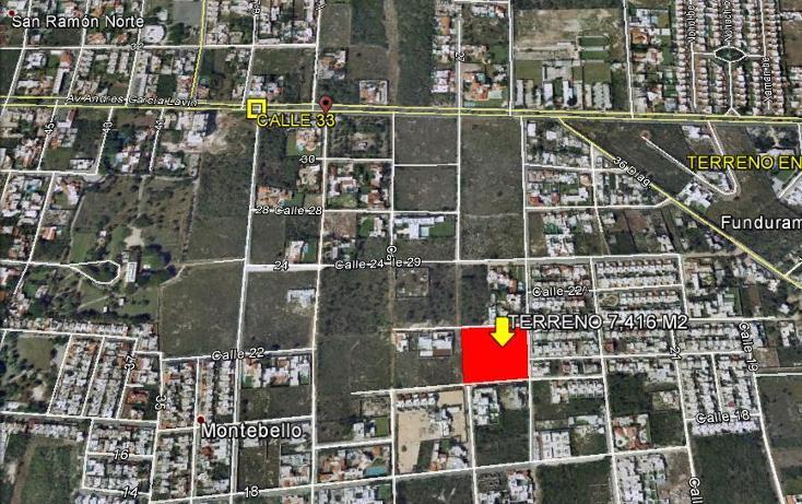 Foto de terreno habitacional en venta en  , montebello, mérida, yucatán, 1501673 No. 02