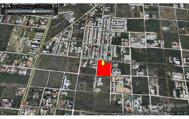 Foto de terreno habitacional en venta en  , montebello, mérida, yucatán, 1501673 No. 03