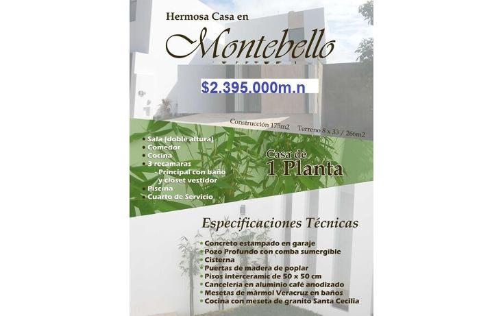 Foto de casa en venta en  , montebello, mérida, yucatán, 1503533 No. 08