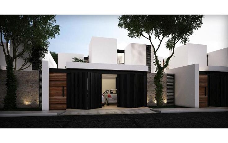 Foto de casa en venta en  , montebello, mérida, yucatán, 1526495 No. 01