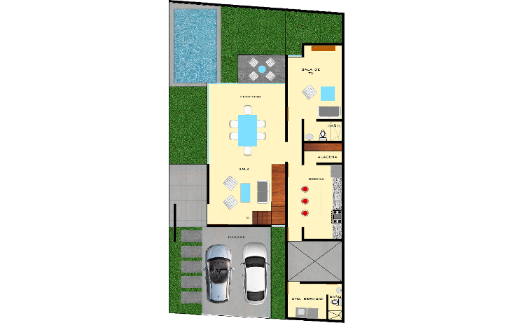 Foto de casa en venta en  , montebello, mérida, yucatán, 1557898 No. 07