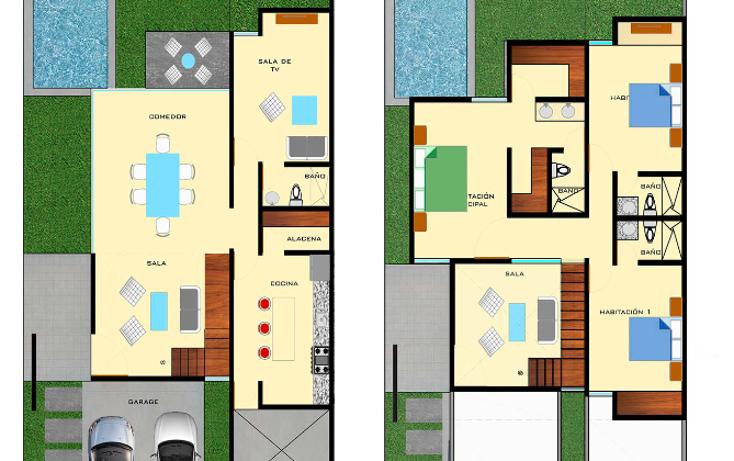 Foto de casa en venta en  , montebello, mérida, yucatán, 1605912 No. 07