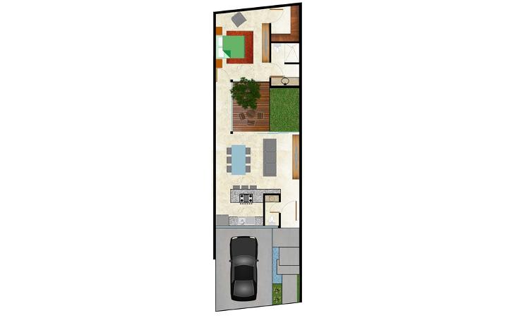 Foto de casa en venta en  , montebello, mérida, yucatán, 1608814 No. 05