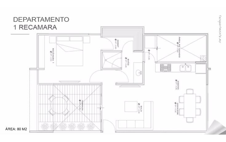 Foto de departamento en venta en  , montebello, mérida, yucatán, 1691706 No. 05