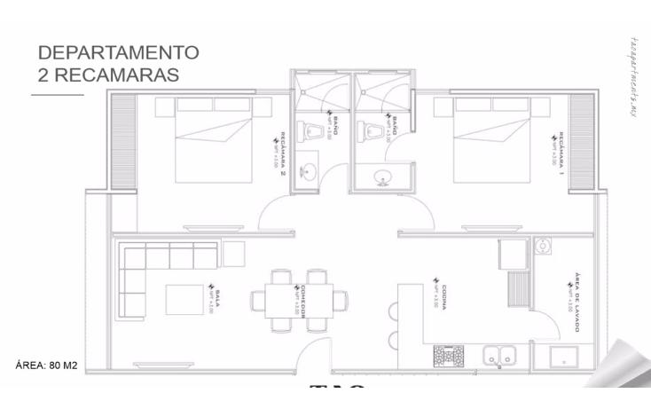 Foto de departamento en venta en  , montebello, mérida, yucatán, 1691706 No. 06