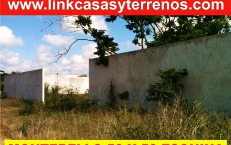 Foto de terreno habitacional en venta en  , montebello, mérida, yucatán, 1701058 No. 01