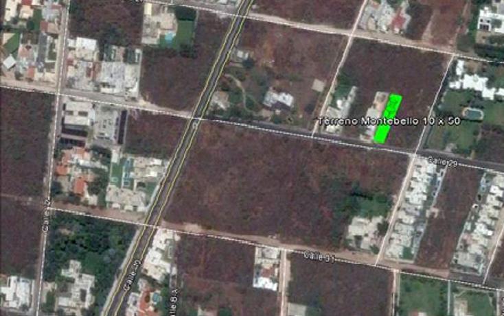 Foto de terreno habitacional en venta en  , montebello, m?rida, yucat?n, 1748352 No. 01