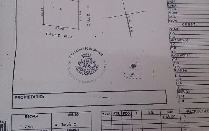 Foto de terreno habitacional en venta en, montebello, mérida, yucatán, 1750340 no 03