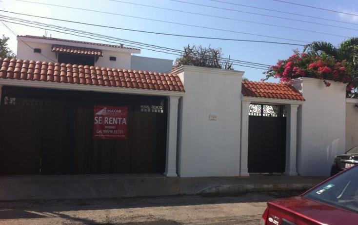 Foto de casa en renta en  , montecarlo, mérida, yucatán, 1259209 No. 01