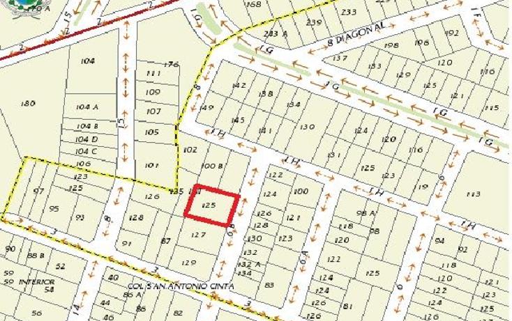 Foto de terreno habitacional en venta en, montecristo, mérida, yucatán, 1851418 no 05