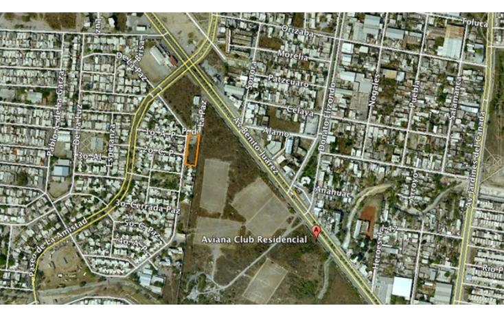 Foto de terreno habitacional en venta en  , monterreal infonavit, general escobedo, nuevo le?n, 1122271 No. 01