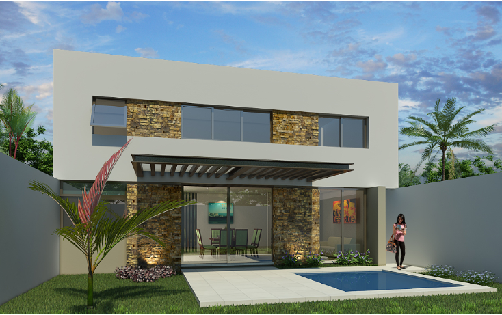 Foto de casa en venta en  , monterreal, mérida, yucatán, 1666368 No. 02