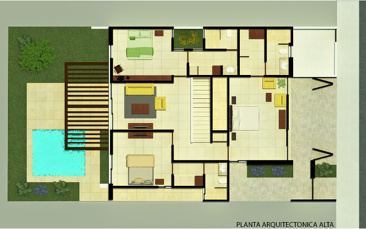 Foto de casa en venta en  , monterreal, mérida, yucatán, 1666368 No. 04