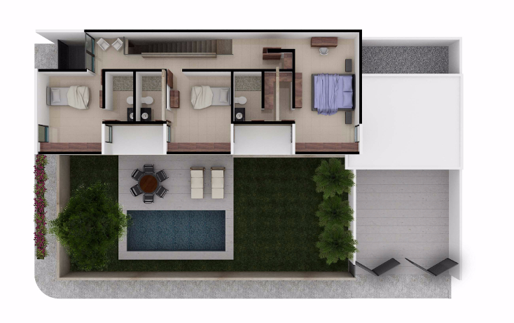 Foto de casa en venta en  , montes de ame, mérida, yucatán, 1048941 No. 03