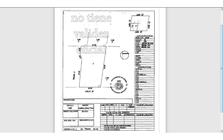 Foto de terreno habitacional en venta en  , montes de ame, m?rida, yucat?n, 1181875 No. 02