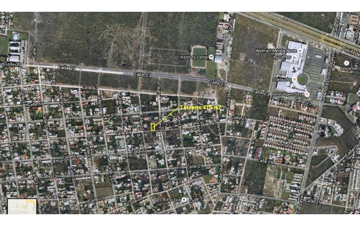Foto de terreno habitacional en venta en  , montes de ame, mérida, yucatán, 1544695 No. 01