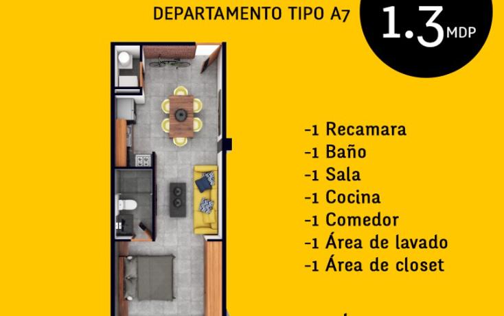 Foto de departamento en venta en  , montes de ame, mérida, yucatán, 1598388 No. 05
