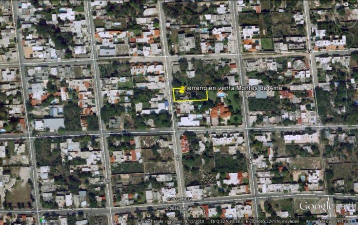 Foto de terreno habitacional en venta en, montes de ame, mérida, yucatán, 1810744 no 02
