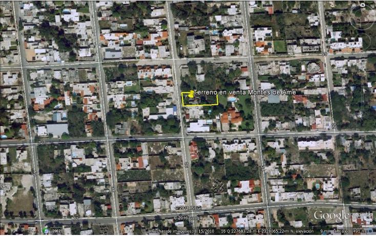 Foto de terreno habitacional en venta en  , montes de ame, mérida, yucatán, 1810744 No. 02