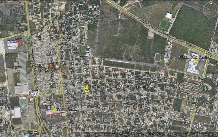 Foto de terreno habitacional en venta en, montes de ame, mérida, yucatán, 1810744 no 03