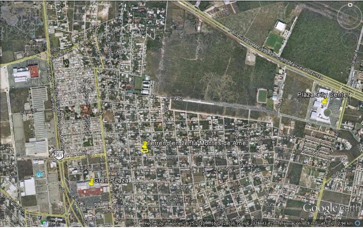 Foto de terreno habitacional en venta en  , montes de ame, mérida, yucatán, 1810744 No. 03
