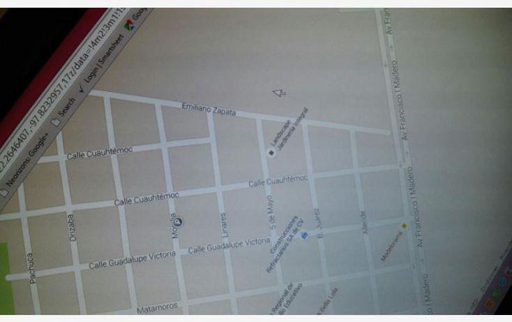 Foto de terreno habitacional en venta en morelia 2905 norte, hipódromo, ciudad madero, tamaulipas, 1410299 no 05