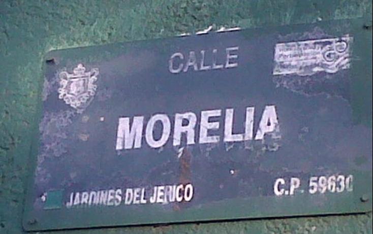 Foto de terreno habitacional en venta en morelia 8, revolución, zamora, michoacán de ocampo, 491369 no 05