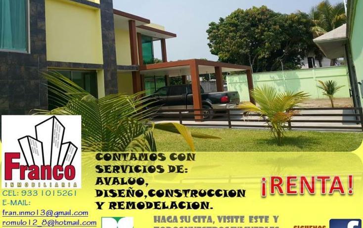 Foto de casa en renta en  , morelos, comalcalco, tabasco, 1313083 No. 02