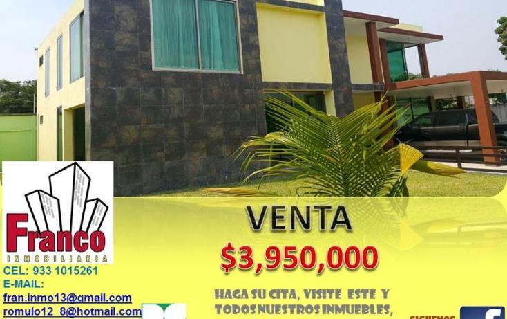 Foto de casa en venta en  , morelos, comalcalco, tabasco, 1994348 No. 01