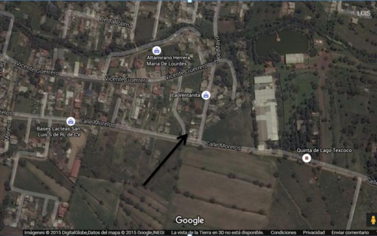 Foto de terreno habitacional en venta en morelos sn intsn, san luis huexotla, texcoco, estado de méxico, 1566917 no 01